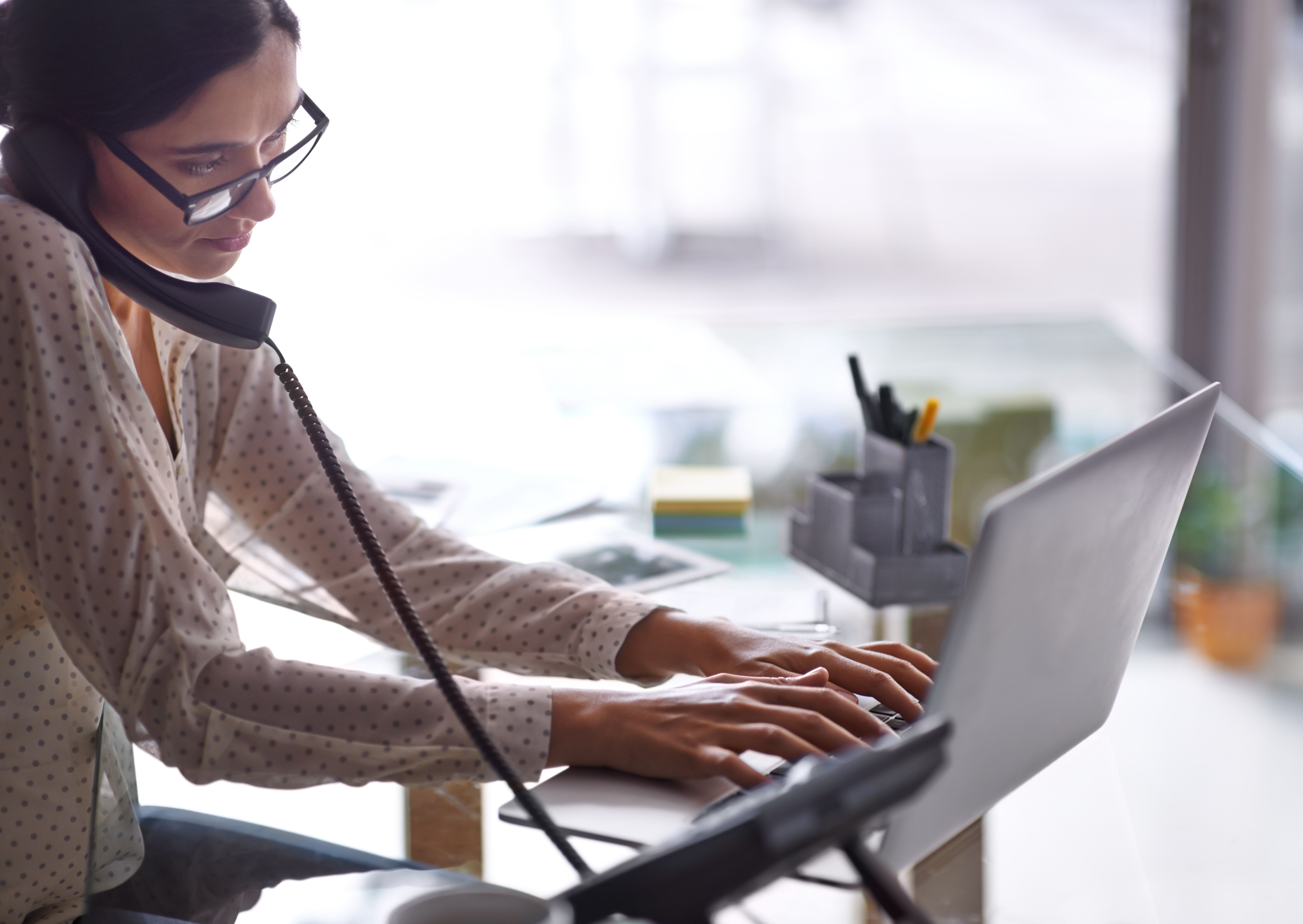 the basic etiquette of transferring a business call