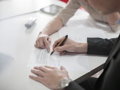 signing a Mortgage Contingency Clause