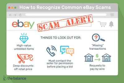 How to Recognize Common eBay Scams