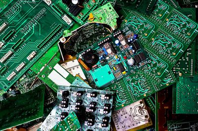 Electronic waste to be recycled