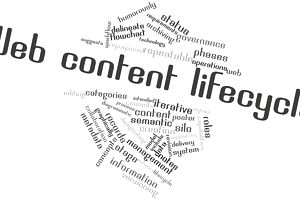 Web content lifecycle