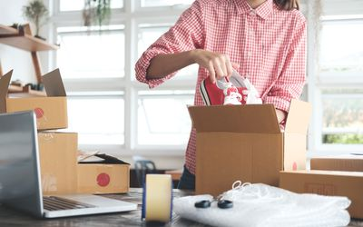 ways to get free shipping supplies for an ebay business