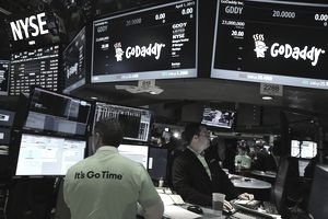 GoDaddy IPO on the New York Stock Exchange (NYSE)