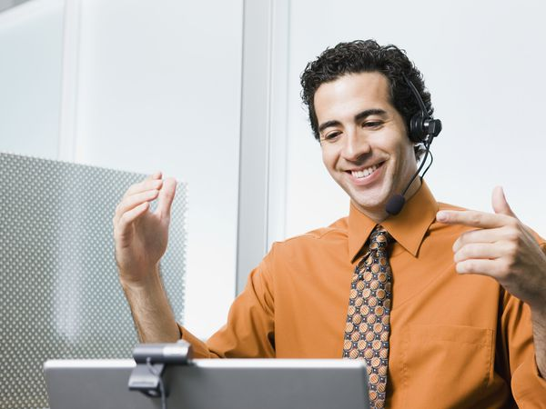 In a webinar, your computer is your audience
