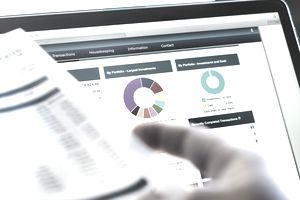 reviewing financial statements of a company