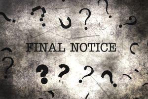 Final notice text