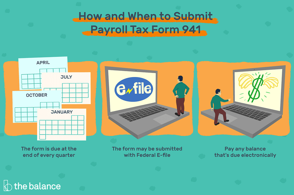 941 form directions  How to Complete and File Form 9 for Payroll Taxes