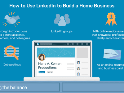 Image shows a laptop open to a linkedin profile for