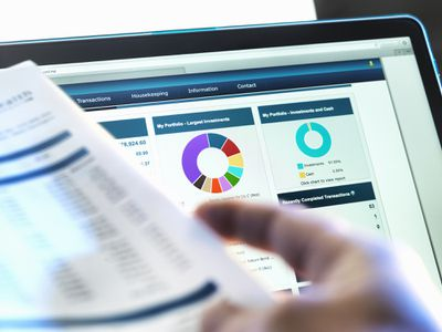 Investment forms and online portfolio
