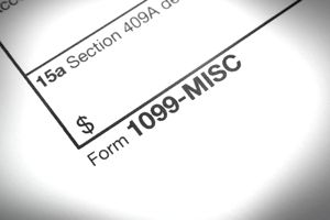 Tax 1099 Misc form
