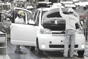 New Toyota Production Line Opens