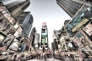Times Square, New York City.