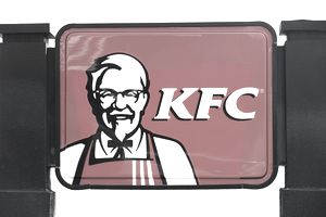 KFC Sign featuring an image of Colonel Sanders.