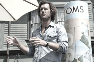 Blake Mycoskie, social entrepreneur and founder of TOMS.