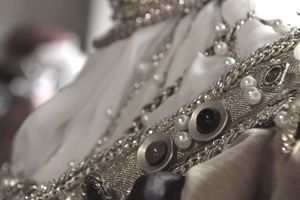Jewelry on a mannequin