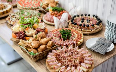 Breakfast Menu Options For An Event Or Business Meeting