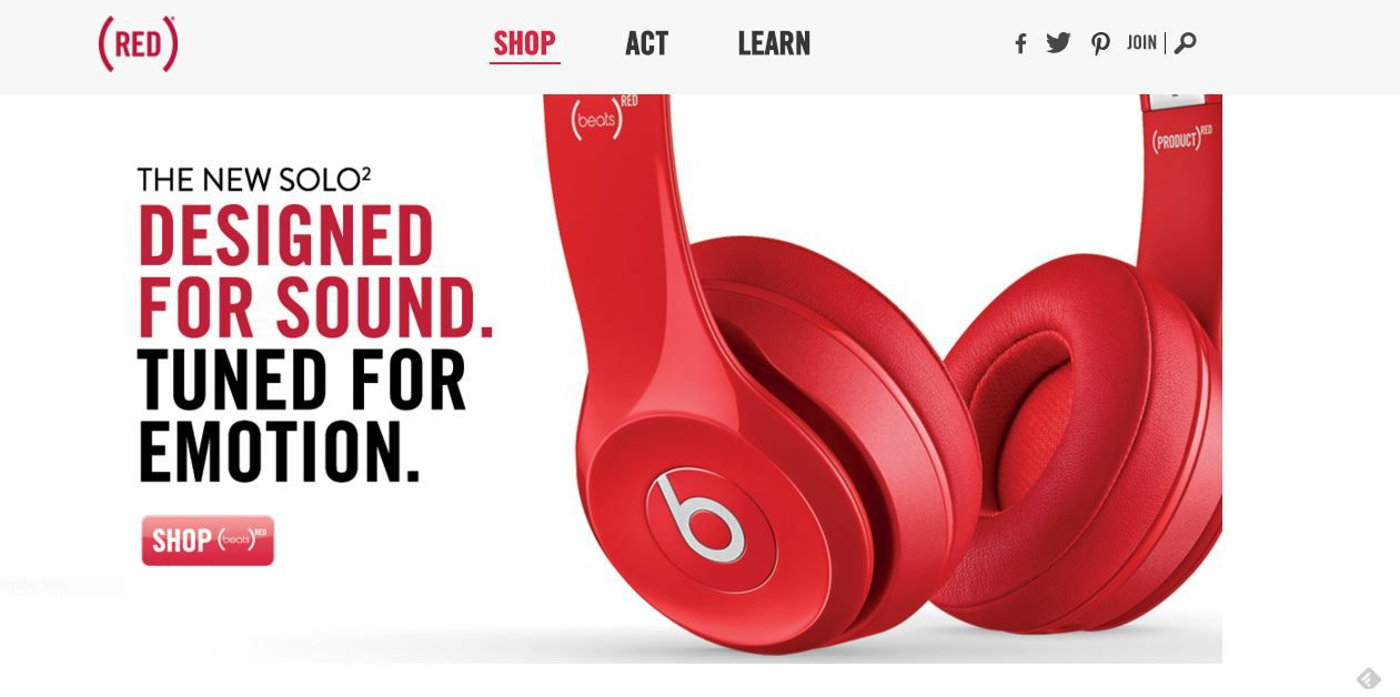 (RED) is the place to go for great tech gifts for your family. And it helps a great cause.