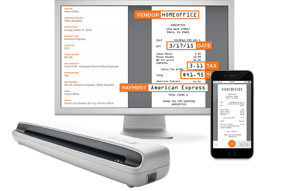 Top Apps For Scanning Receipts And Expense Reports - Invoice scanner