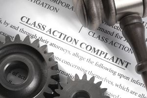 Mechanical electrical concept for legal class action lawsuit for mechanical electrical