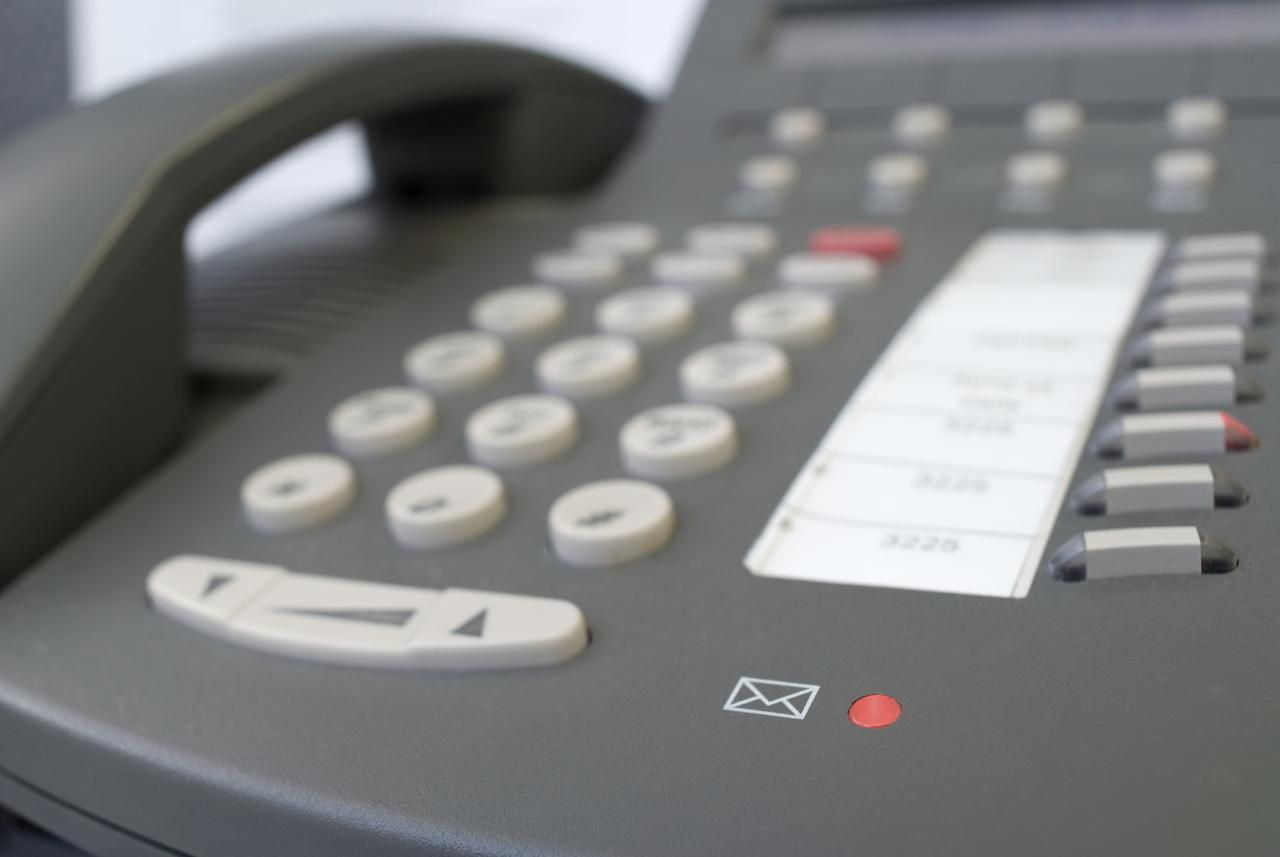 Business Etiquette Of A Professional Voicemail Greeting