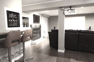 Picture Finished Basement Adds Value to Property