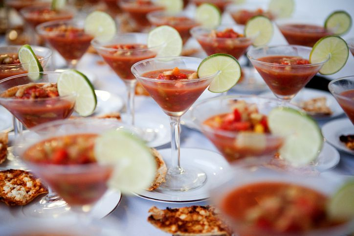 Interactive food stations can make for a memorable conference experience