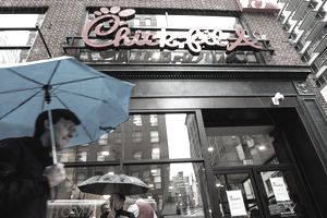 Fast-Food Chicken Restaurant Chick-Fil-A Opens First Store In Manhattan