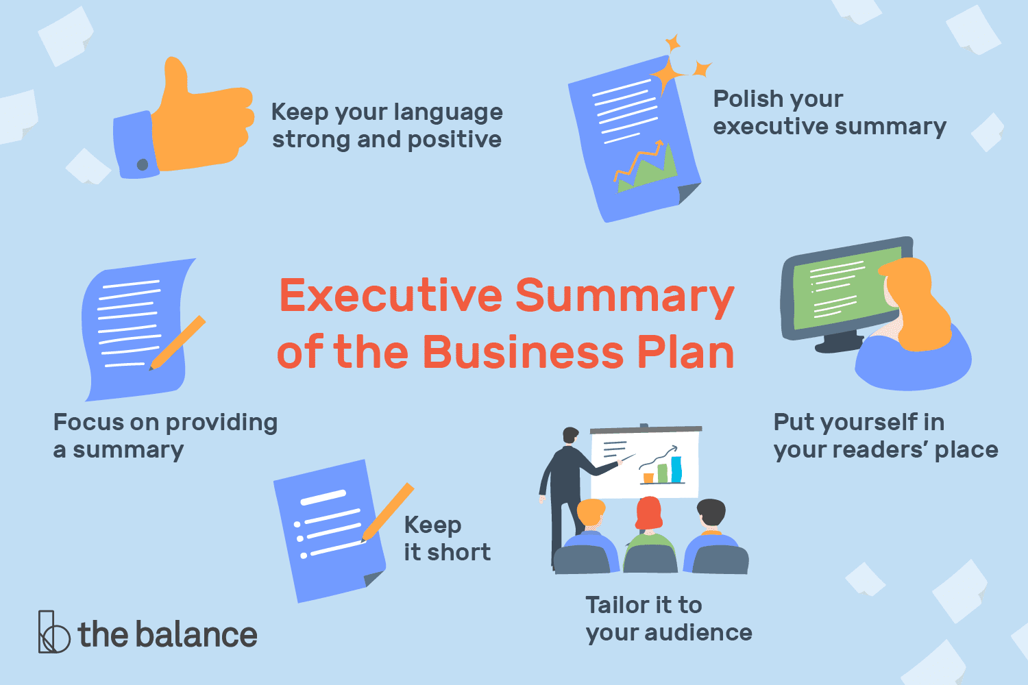 Executive summary of the business plan tips for writing the business plans executive summary accmission Image collections