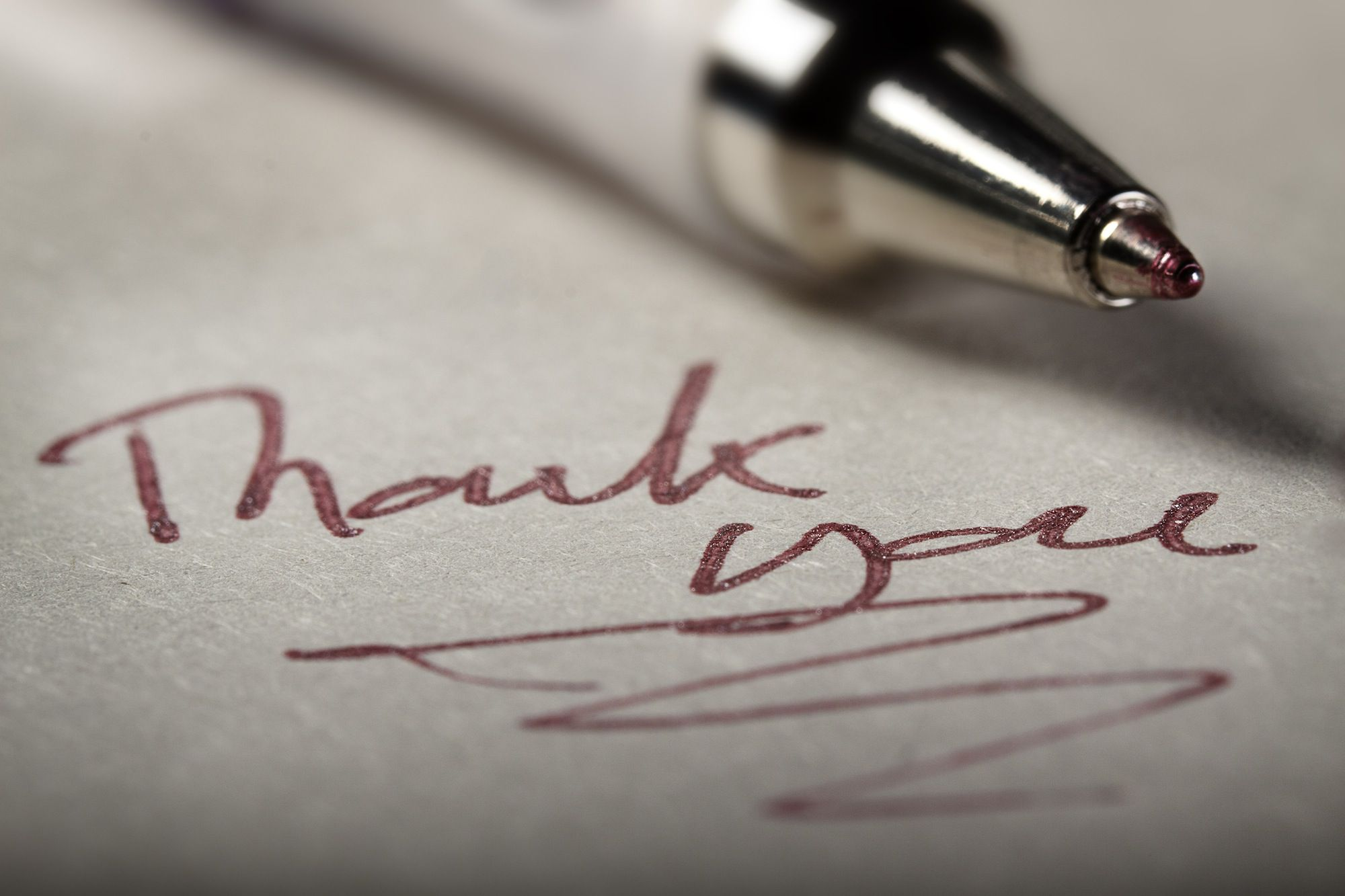 Writing Thank You Cards Takes Goals, a System and Great Stationery