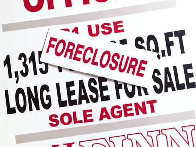 Property Foreclosure Sign