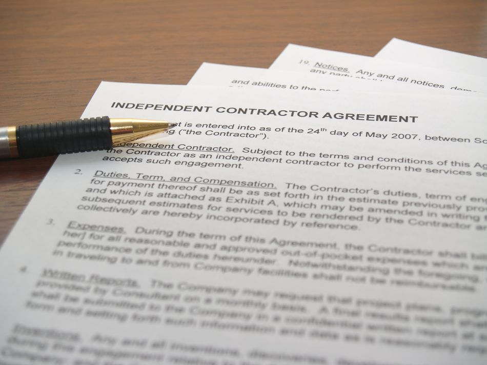Hiring And Paying An Independent Contractor