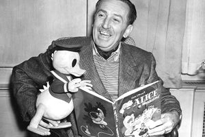 Film Producer Walt Disney, 1951