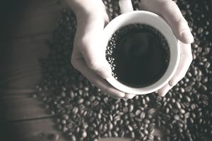 Acup of coffee