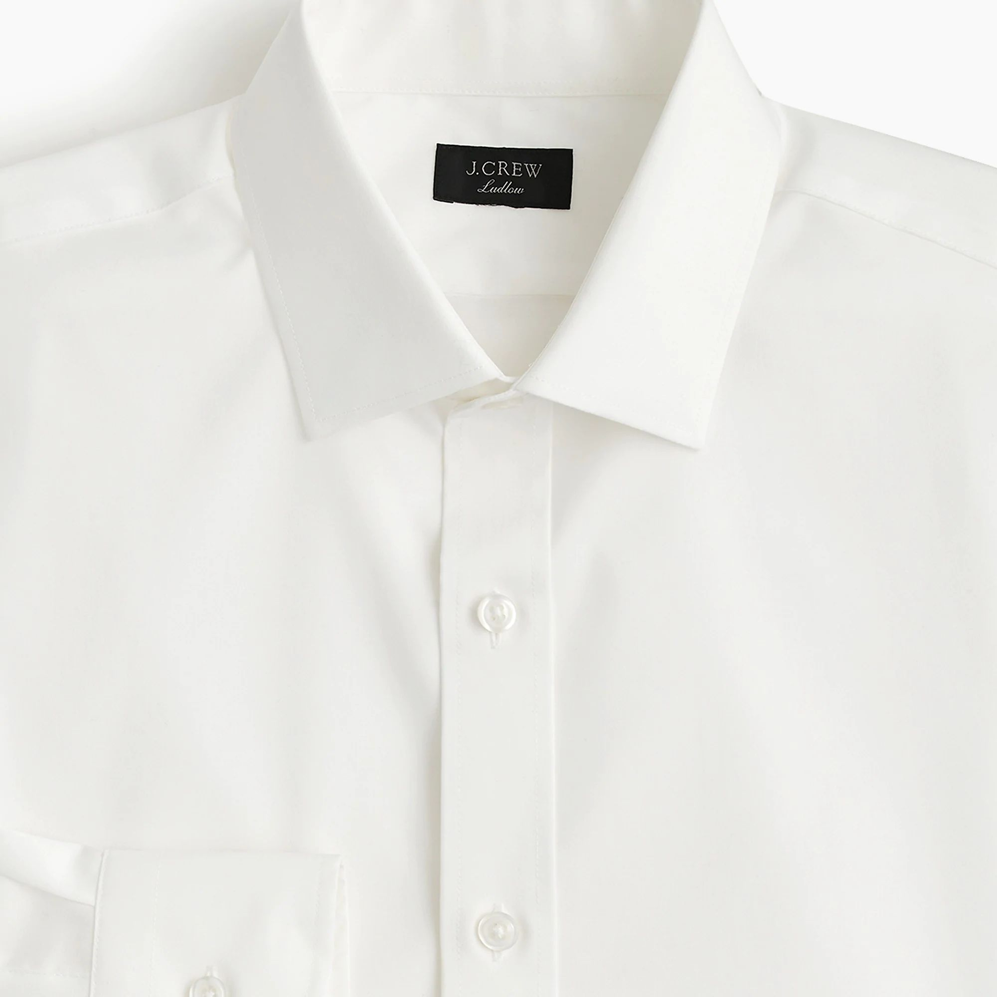 J. Crew Ludlow Stretch Two-Ply Easy-Care Cotton Dress Shirt