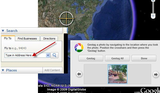 Geotagging in Google Earth