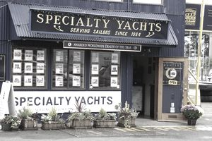Specialty Yachts business storefront.