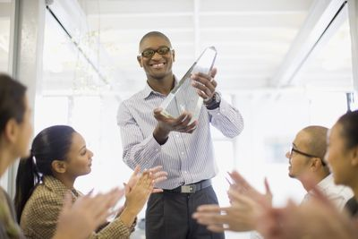 Company giving employee awards that have tax implications.