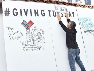 Giving Tuesday and The Artists Project