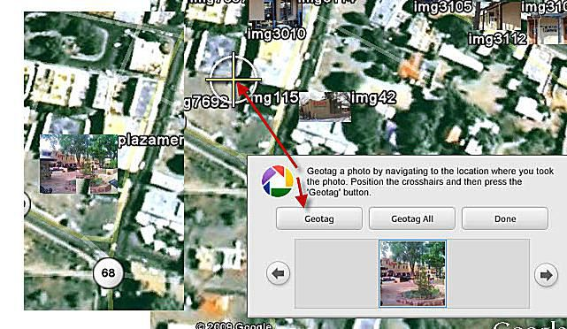 Geotag Image in Google Earth
