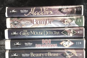 Disney black diamond VHS tapes