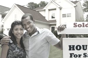 Young Couple Buying First Home With Proceeds From Ebay