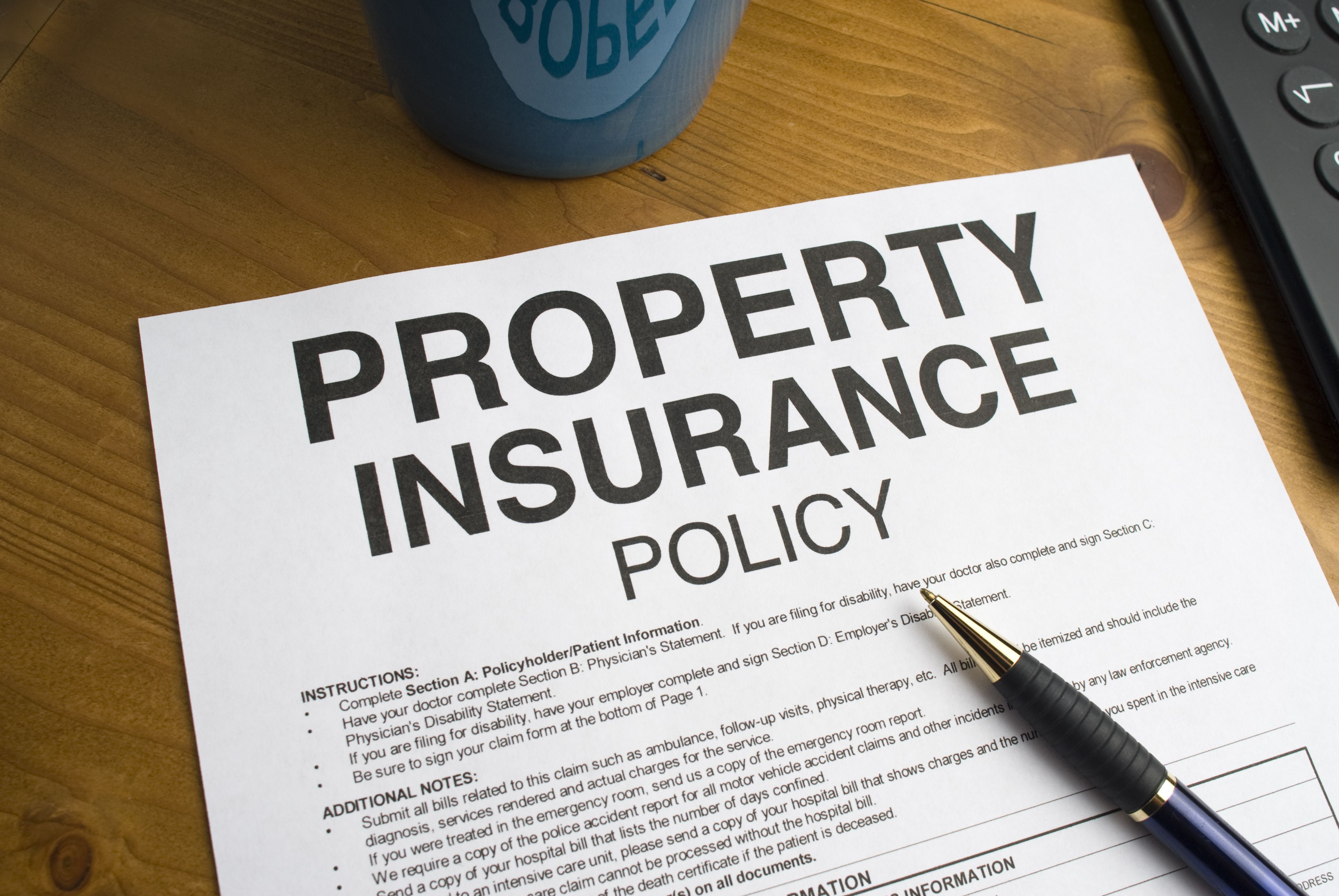 the commercial property policy