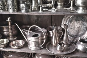 Antique Utensils For Sale In Shop