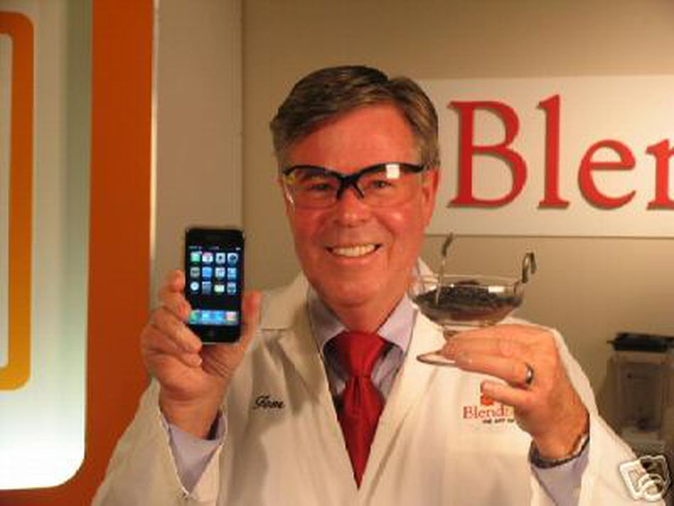 Yes, this company really destroyed an iPhone in one of their blenders.
