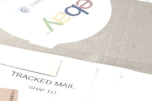 Packing detail of a purchase in ebay