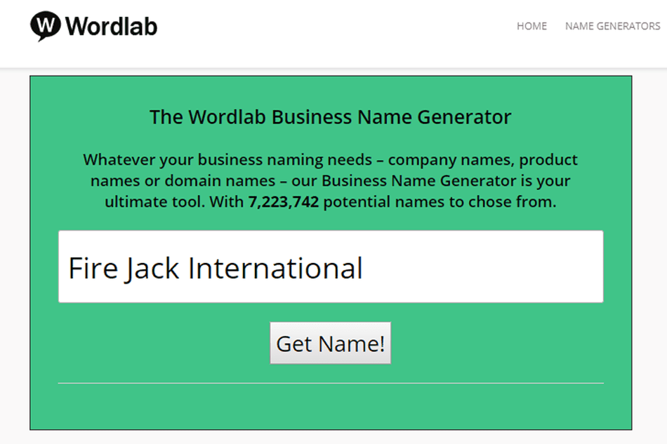Companyname Generator: 10 Awesome Free Business Name Generators