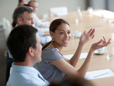 Nonprofit Board meeting and discussion