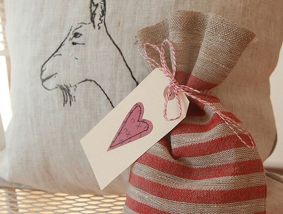 Artisan goat milk caramels Valentine's Day gift from Big Picture Farm