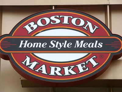 The sign on a Boston Market resturaunt is shown August 7, 2007 in College Park, Maryland.