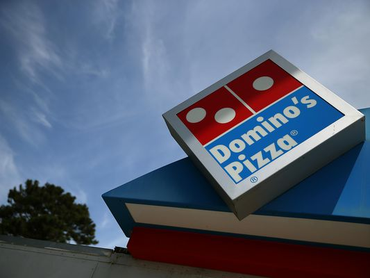 Domino's Pizza franchise sign